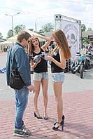 Промо-модели, стендистки для выставок, конференций, фестивалей в Киеве