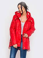 Зимняя женская куртка-парка больших размеров 90189/1