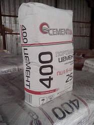 Цемент м-400 Портландцемент в мешках 25кг.