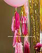 Бумажная гирлянда-кисточка из тишью «Light Pink», набор из 5 шт., фото 4