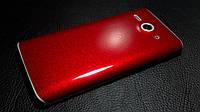 """Декоративная защитная пленка для Huawei C8813D """"канди красный"""""""