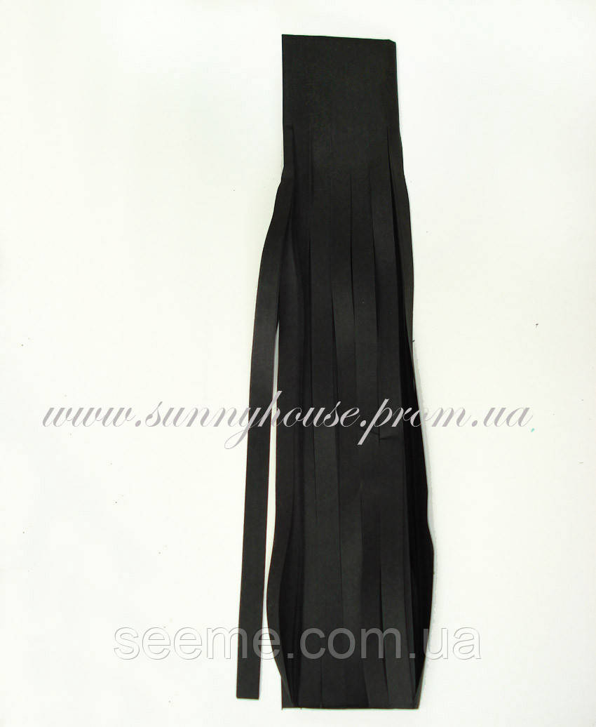 Бумажная гирлянда-кисточка из тишью «Black», набор из 5 шт.