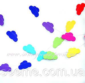 Гирлянда для декора праздника «Разноцветные Облака», 1,5 метра