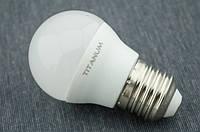 LED лампа Titanum Шарик G45 5Вт E27 4100K