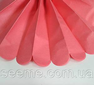 Бумажные помпоны из тишью «Coral Rose» из 12 листов, диаметр 50 см,