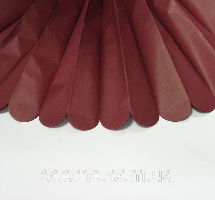 Бумажные помпоны из тишью «Mulberry», из 12 листов, диаметр 50 см