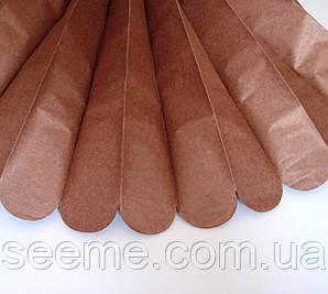Бумажные помпоны из тишью «Raw Sienna», из 12 листов, диаметр 50 см