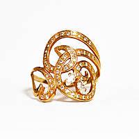 Золотое кольцо с цирконием 96057
