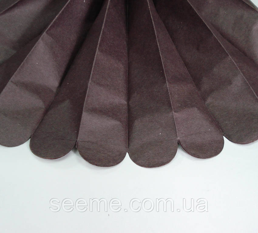 Бумажные помпоны из тишью «Espresso», из 12 листов, диаметр 50 см