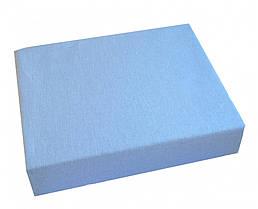 Простынь Twins на резинке 120/60 03, голубой