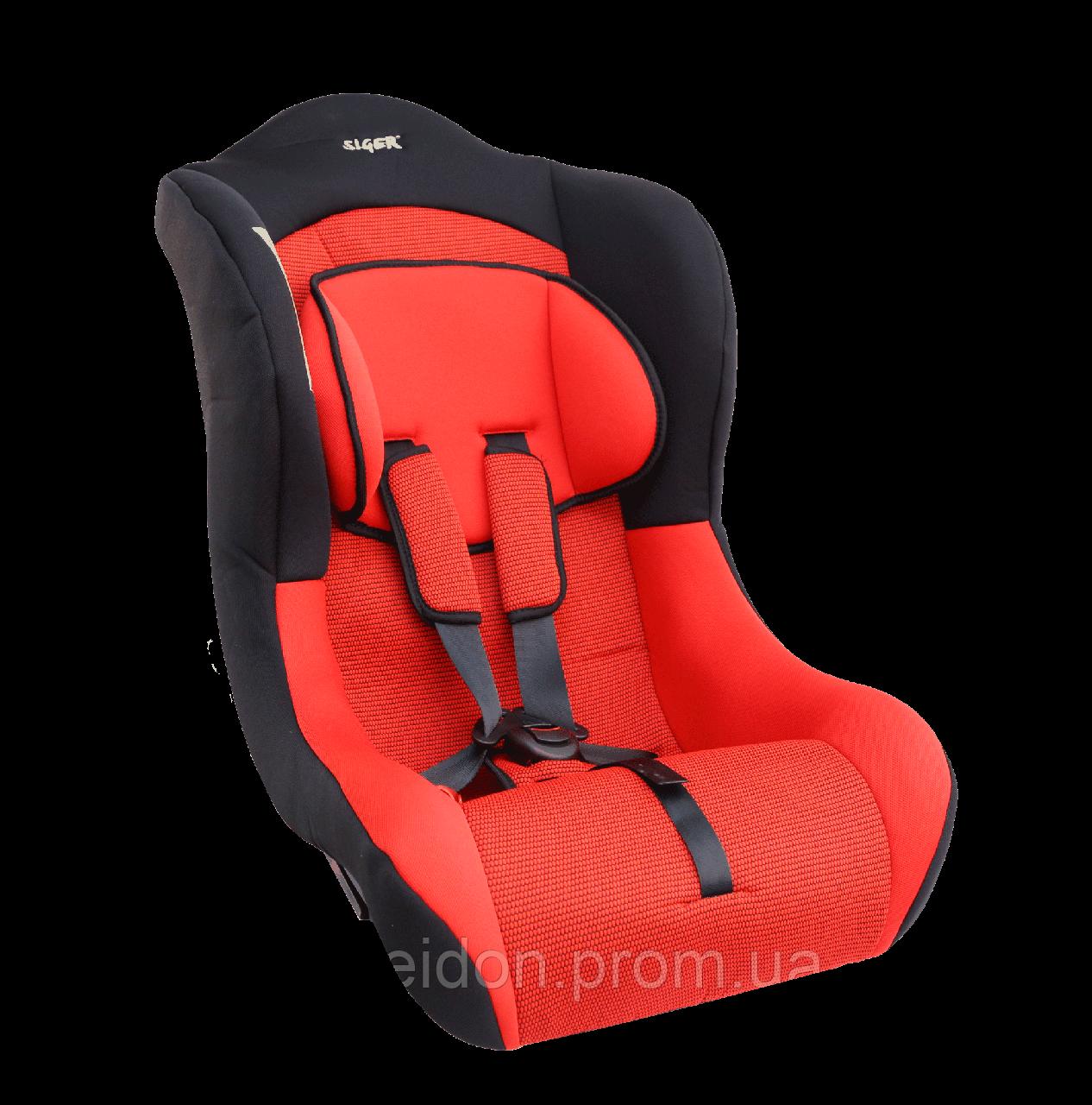 """Детское авт. кресло SIGER """" Тотем """",0-4 лет, 0-18 кг, группа 0/1 (синий, серый,красный.)"""