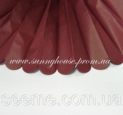 Бумажные помпоны из тишью «Mulberry», диаметр 25 см.
