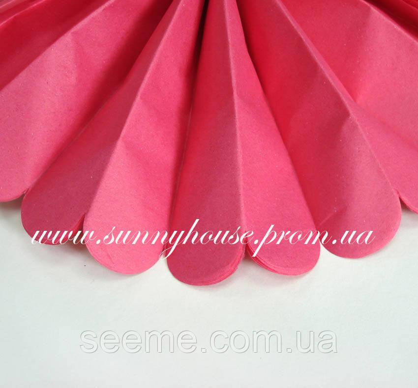 Бумажные помпоны из тишью «Azalia», диаметр 35 см.