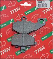 Комплект тормозных колодок TRW-LUCAS MCB 662, фото 1