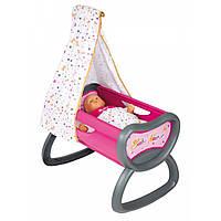 Кроватка с балдахином Smoby Baby Nurse 220311