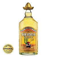 Текила Sierra Reposado Gold (Сиера Репосадо) 1л