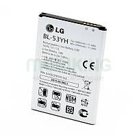 Оригинальная батарея на LG G3/D855 (BL-53YH) для мобильного телефона, аккумулятор для смартфона.