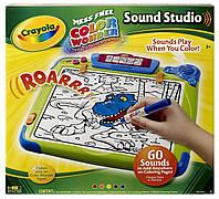 Интерактивный набор для рисования Crayola Color Wonder Sound Studio со звуком