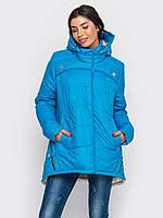 Зимняя женская куртка-парка больших размеров 90189/2
