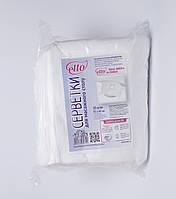 Одноразовые салфетки 0.35м*0.40м, жемчужина для подголовника массажного стола (50шт./уп.) Etto
