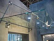 Козырьки и навесы из стекла, фото 2