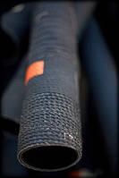 Рукава резиновые напорно-всасывающие для воды ГОСТ 5398-76: Класс В 100мм * 0,3МПа