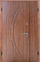 Входные двери полуторные Сфера