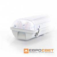 Светильник EVRO-LED-SH-2*10 с LED лампами (2*600) 4000К, фото 1