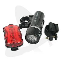 фонарик велосипедный передний задний #100045