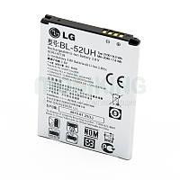Оригинальная батарея на LG D280 (BL-52UH) для мобильного телефона, аккумулятор для смартфона.