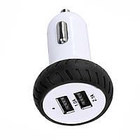 USB зарядное в авто Car Charger for Apple iPhone Ipad 3A