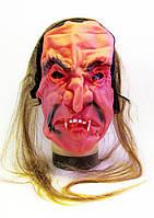 Маска Хэллоуин с волосами