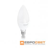 Лампа светодиодная  Евросвет свеча С-4-4200-14