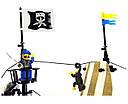 Конструктор BRICK 307 пиратский корабль, фото 6