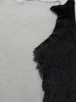 Мех дубленочный Мерино Лак черный/белый Италия