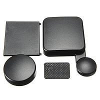 Набор крышечек защитных (на бокс, на линзу, на бат. отсек, на боковой отсек) для GoPro 3+, 4