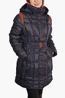 Пуховик женский зимний удлиненный. , фото 1