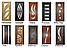 Дверь межкомнатная остекленная Тюльпан (Орех шоколадный), фото 2