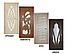 Дверь межкомнатная остекленная Тюльпан (Орех шоколадный), фото 8
