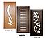 Дверь межкомнатная остекленная Тюльпан (Орех шоколадный), фото 10