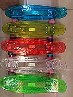 Подросковый, взрослый модный пенни борд 850 со светящейся подножкой цвета в ассортименте