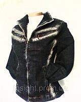 Куртка-жакет женская джинсовая, р.40,42,44,46