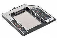 Оптибей  Optibay SSD слот для HDDв ноутбук 9,5мм SATA-SATA