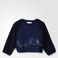 Женский джемпер Adidas by Stella McCartney Embroidered Teddy W (Артикул: AA7492)