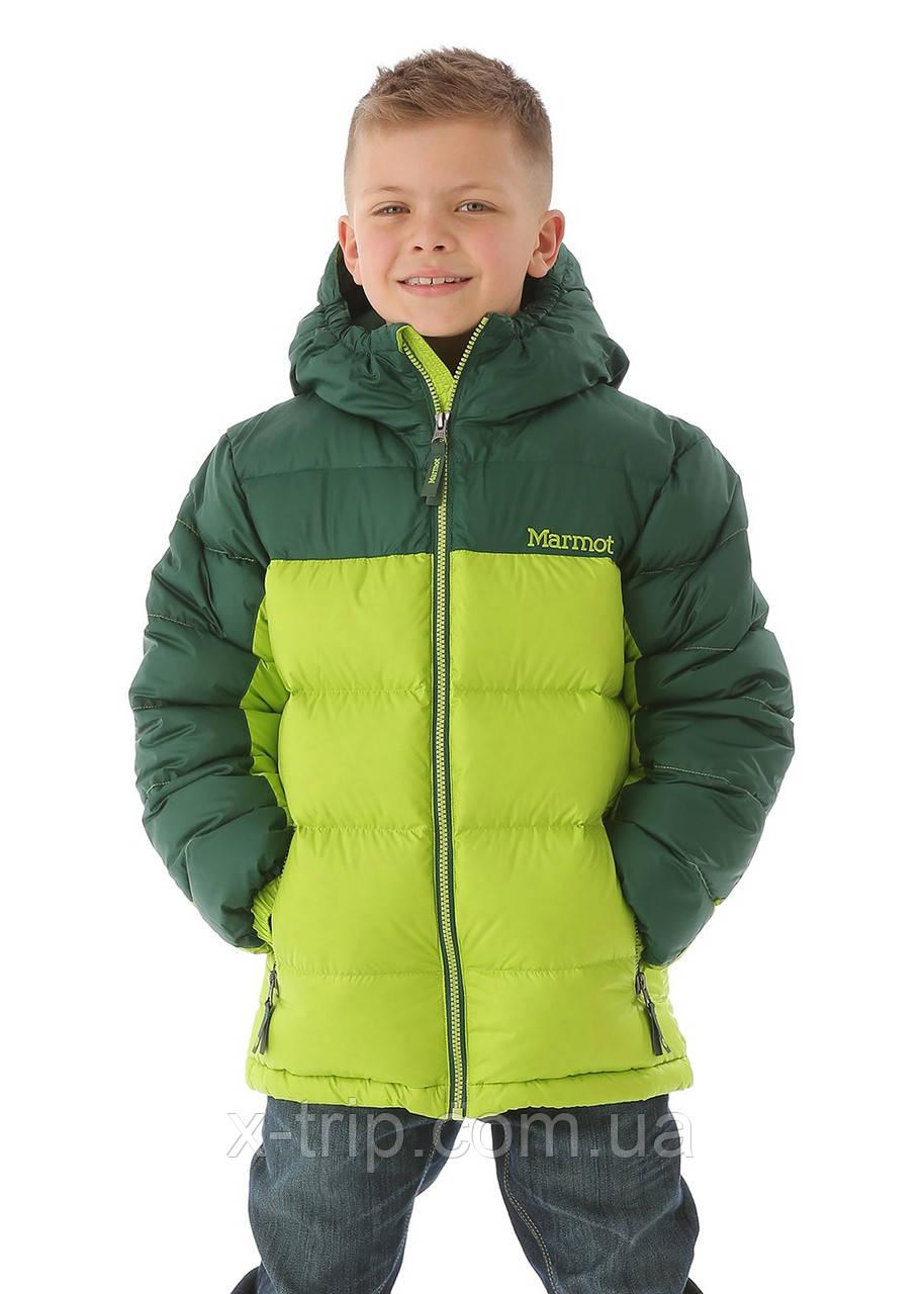 d0590cf53 Пуховик детский для мальчика Marmot Boys Guides Down Hoody (73700 ...
