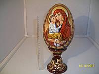 Сувенир Яйцо пасхальное Супер большое Божья Мать