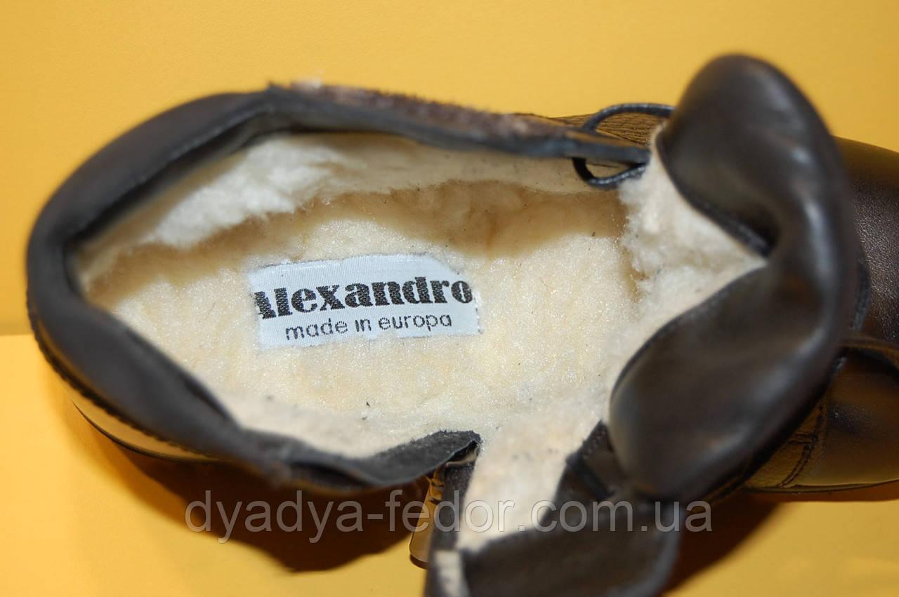 67a28ee8 ... Детские зимние ботинки ТМ Alexandro Код 17870 размеры 32,36.37, фото 5