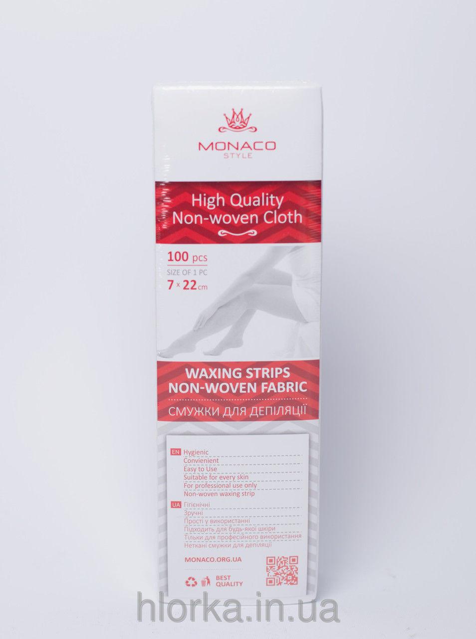 Полоски для депиляции в упаковке 100 шт Monaco