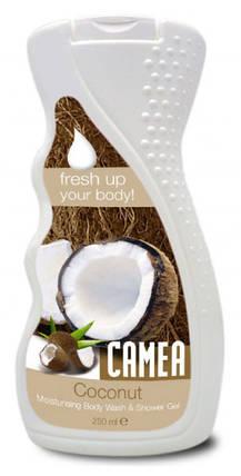 Гель для душа CAMEA с экстрактом кокоса 250мл, фото 2