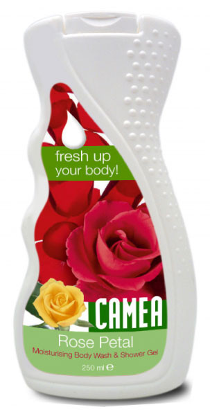 Гель для душа CAMEA с экстрактом розы 250мл